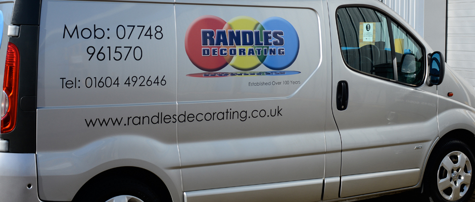 image of Randles Painter and Decorator van